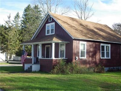 Jeffersonville NY Single Family Home For Sale: $129,999