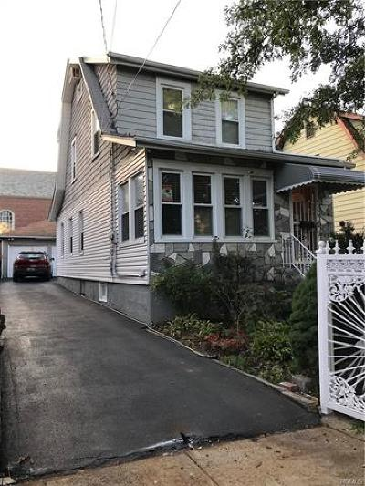 Bronx NY Single Family Home For Sale: $510,000