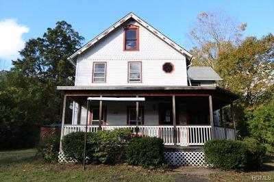 Wurtsboro NY Single Family Home For Sale: $41,500