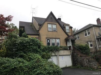 Westchester County Multi Family 2-4 For Sale: 306 Columbus Avenue
