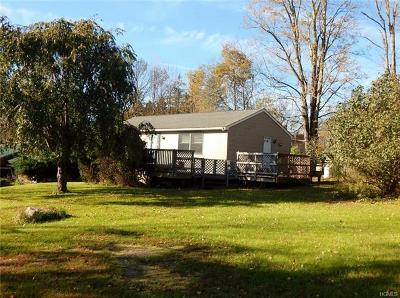 Swan Lake NY Single Family Home For Sale: $90,000