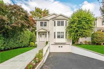Eastchester Single Family Home For Sale: 47 Overlook Avenue
