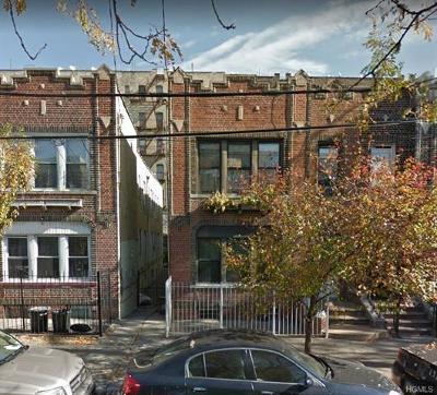 Bronx Multi Family 2-4 For Sale: 1144 Wheeler Avenue