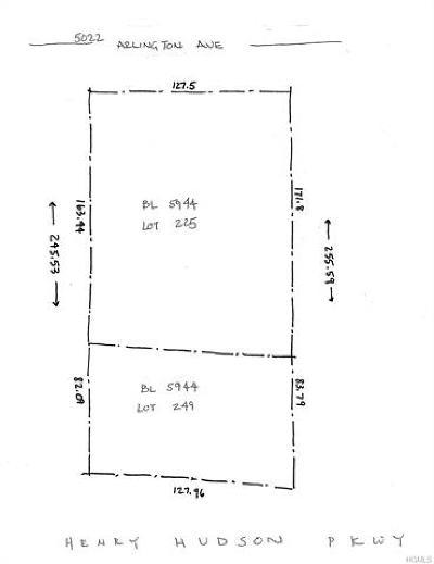 Bronx Residential Lots & Land For Sale: 5022a Arlington Avenue