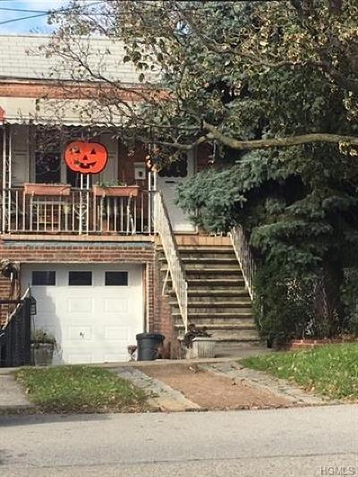 Bronx Single Family Home For Sale: 2857 Sampson Avenue