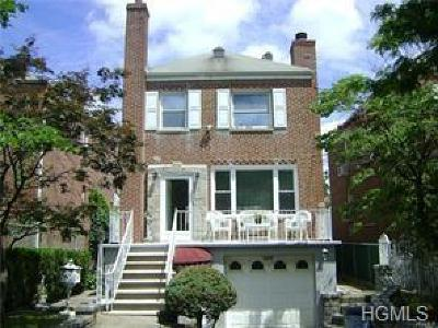 Bronx Single Family Home For Sale: 1629 Pelham Parkway North