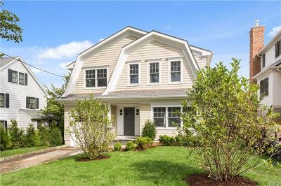 Larchmont Single Family Home For Sale: 5 Vanderburgh Avenue
