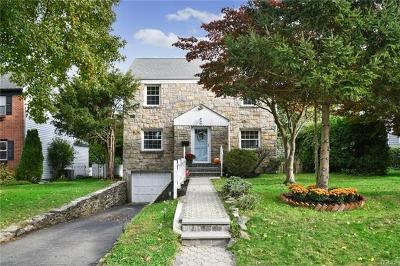 Scarsdale NY Single Family Home For Sale: $829,000