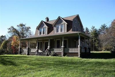 Narrowsburg Single Family Home For Sale: 8254 State Route 52
