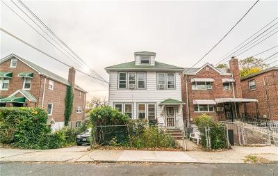 Bronx Multi Family 2-4 For Sale: 4045 Wilder Avenue