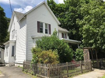 Port Jervis Single Family Home For Sale: 7 Washington Avenue