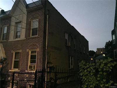 Bronx Multi Family 2-4 For Sale: 643 East 229 Street