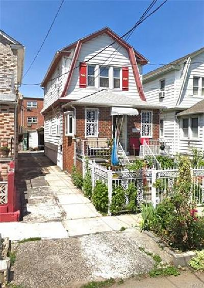 Bronx Single Family Home For Sale: 4413 Bruner Avenue