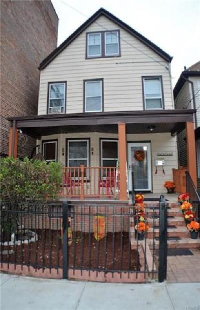 Yonkers Single Family Home For Sale: 37 Carroll Street