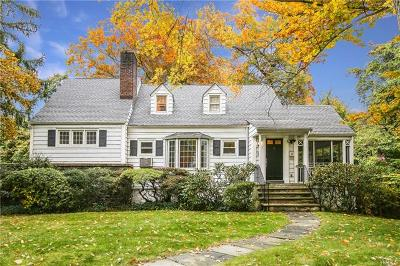Scarsdale NY Single Family Home For Sale: $639,000