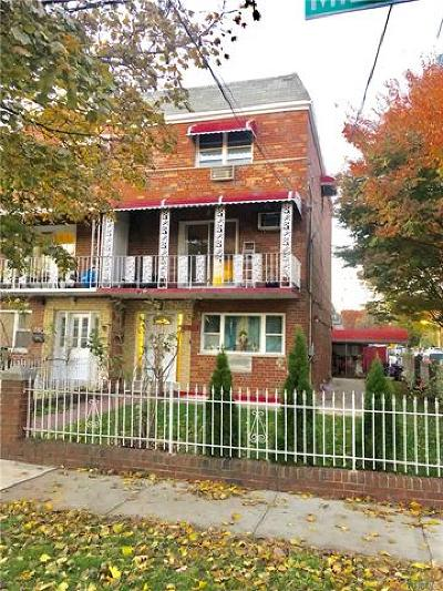 Bronx County Multi Family 2-4 For Sale: 2745 Miles Avenue
