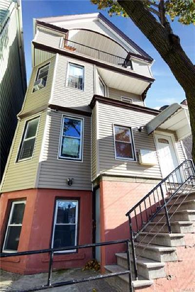 Yonkers Multi Family 2-4 For Sale: 26 Linden Street