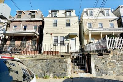 Yonkers Multi Family 2-4 For Sale: 116 Waverly Street