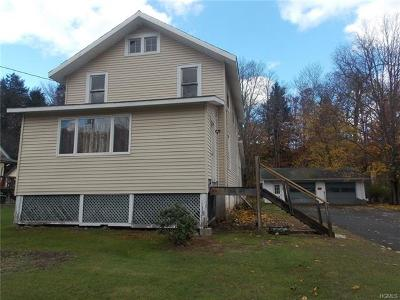Livingston Manor NY Single Family Home For Sale: $70,000