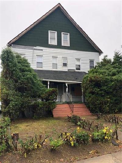 Westchester County Multi Family 2-4 For Sale: 113-115 Church Street
