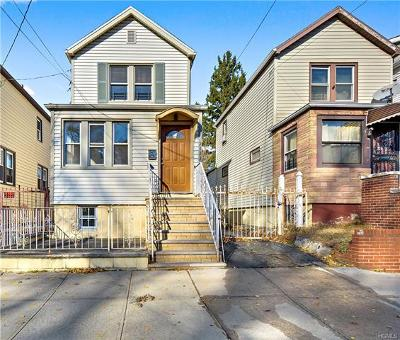 Bronx County Single Family Home For Sale: 2123 Quimby Avenue