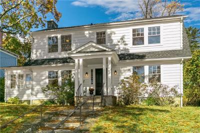 Scarsdale NY Single Family Home For Sale: $950,000
