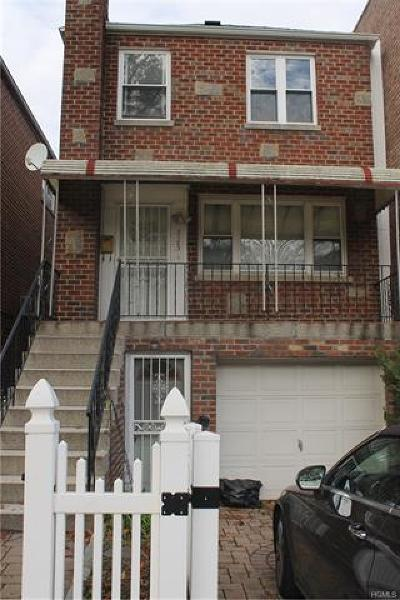 Bronx County Single Family Home For Sale: 3123 Arnow Place