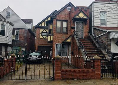 Bronx Multi Family 2-4 For Sale: 1928 Bogart Avenue