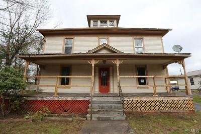 Youngsville, Jeffersonville, Callicoon Single Family Home For Sale: 458 Old Taylor Road