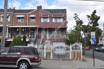 Bronx County Multi Family 2-4 For Sale: 1531 Hammersley Avenue