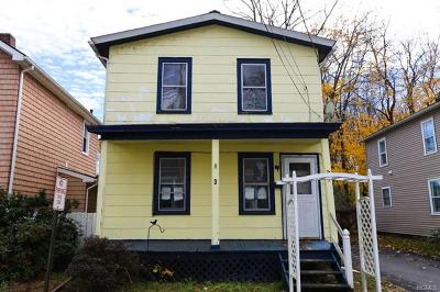 Port Jervis Single Family Home For Sale: 3 McAllister Street