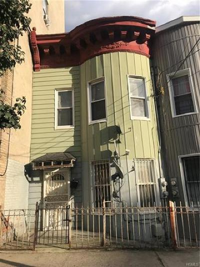 Bronx Multi Family 2-4 For Sale: 2158 Clinton Avenue