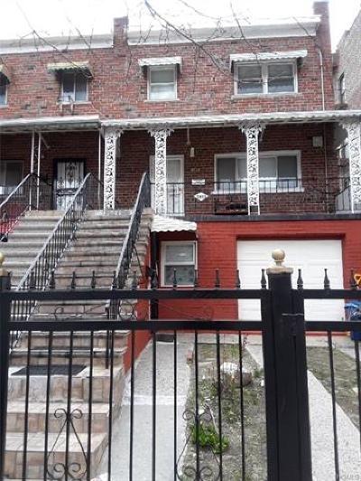 Bronx Multi Family 2-4 For Sale: 3833 Barnes Avenue