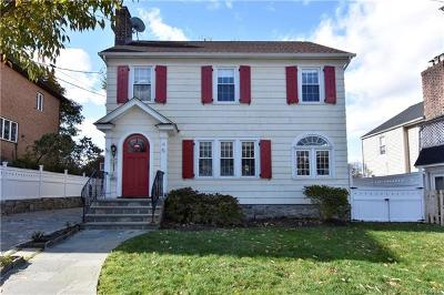New Rochelle Single Family Home For Sale: 11 Overman Place
