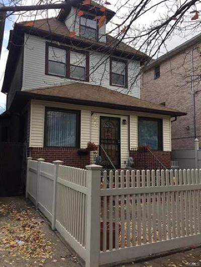 Bronx NY Single Family Home For Sale: $515,000