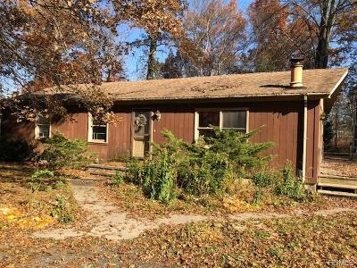 Single Family Home For Sale: 495 Bart Bull Road