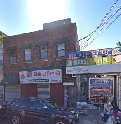 Bronx Commercial For Sale: 1840 Washington Avenue