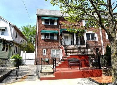Bronx NY Multi Family 2-4 For Sale: $599,000