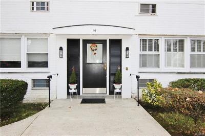 Rye Brook Condo/Townhouse For Sale: 16 North Ridge Street #B