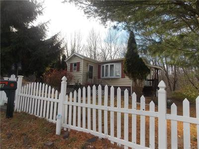 Woodridge NY Single Family Home For Sale: $115,000