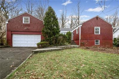 Scarsdale NY Single Family Home For Sale: $888,000