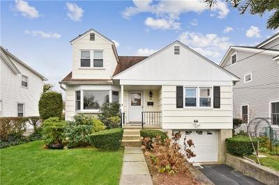Scarsdale NY Single Family Home For Sale: $725,000
