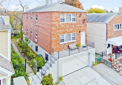Bronx NY Multi Family 2-4 For Sale: $989,000
