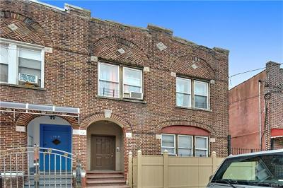 Bronx NY Multi Family 2-4 For Sale: $725,000