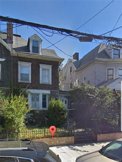 Bronx Single Family Home For Sale: 1008 Woodycrest Avenue