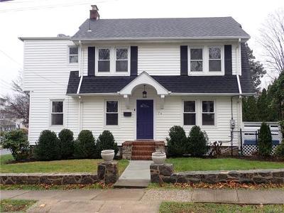 Pelham Single Family Home For Sale: 76 Chestnut Avenue