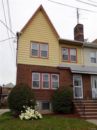 Bronx Single Family Home For Sale: 3157 Valhalla Drive