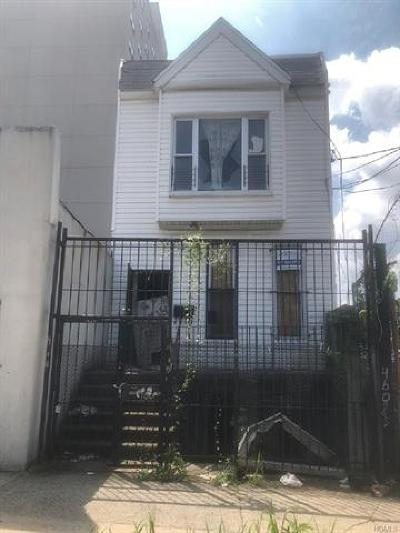 Bronx NY Multi Family 2-4 For Sale: $123,000