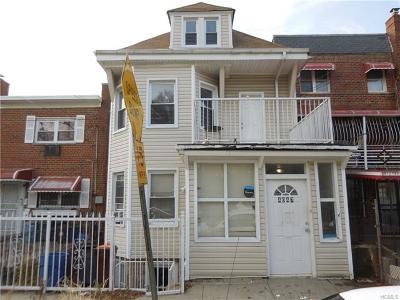 Bronx Multi Family 2-4 For Sale: 4047 Hill Avenue