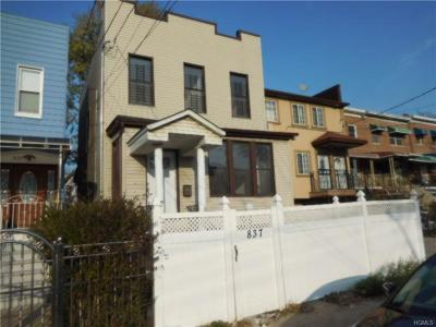 Bronx Multi Family 2-4 For Sale: 837 East 222nd Street